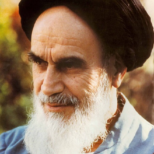 One of the pics posted on @EmamKhomeini