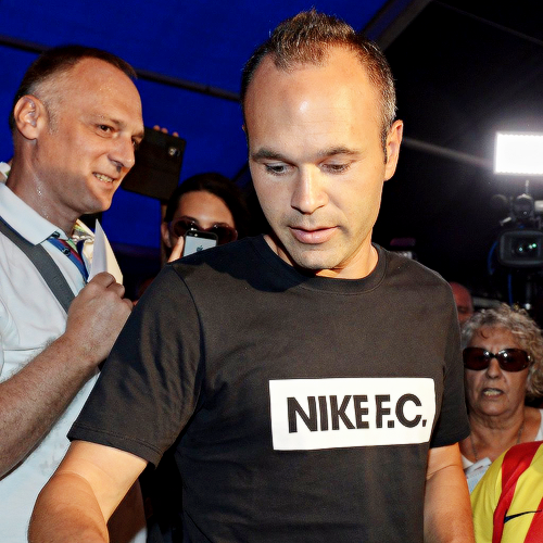 Iniesta, the player – not the designer