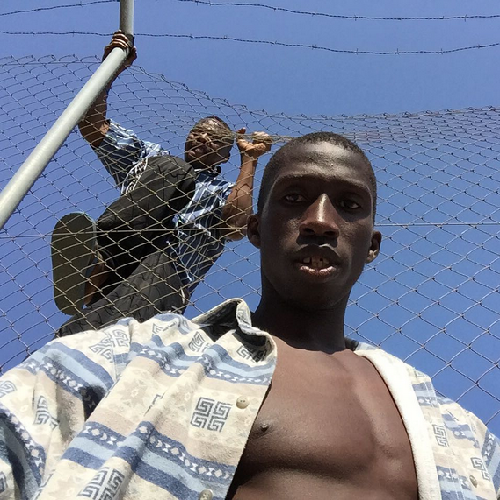 Diouf's last photo on @aboudiouf1993
