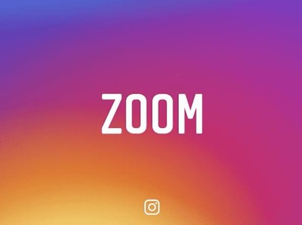 instagram zoom feature